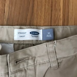 Old Navy boys khaki pants size 10